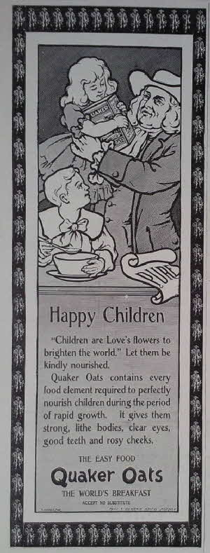 1898 Quaker Oats Advert1