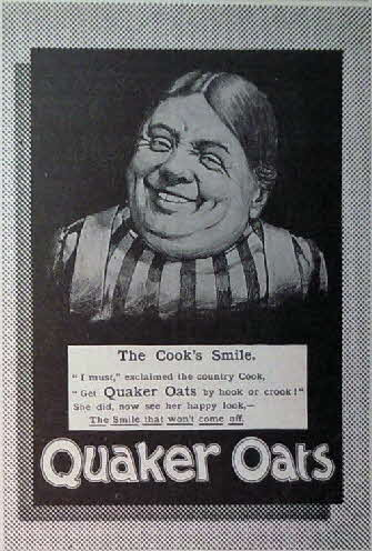 1903 Quaker Oats Famous Smiles Advert