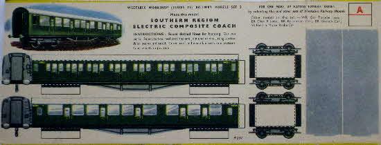 1950s Railway Models Series 17 Set 3 Weetabix Cereal